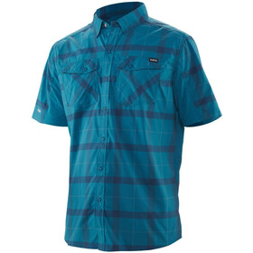 NRS Guide Shortsleeve Shirt Men, fjord